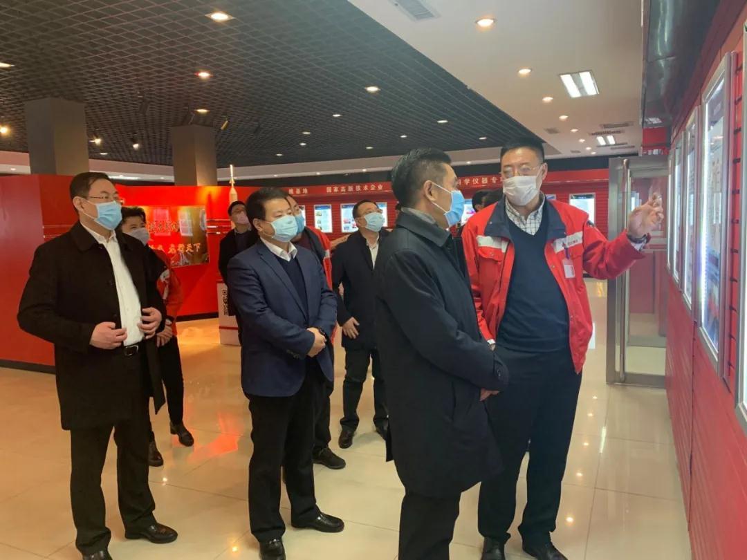 丹东市委书记莅临雷竞技官网手机版集团